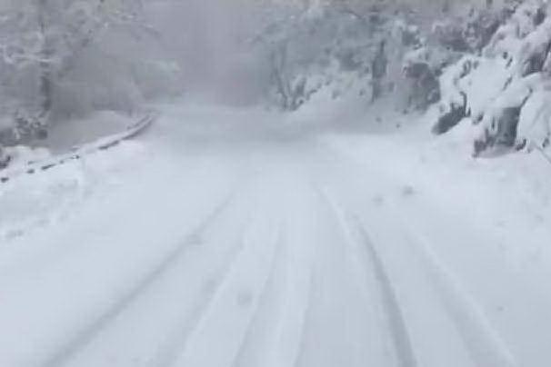 La Sardegna investita dal gelo artico, temperature in picchiata