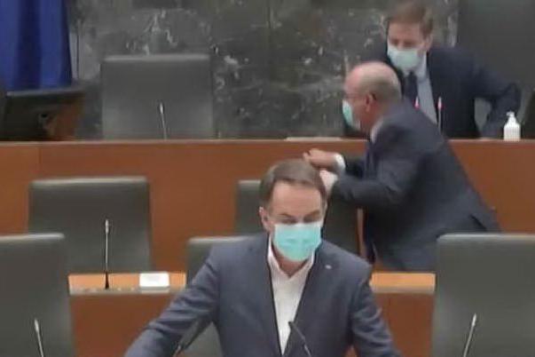 Terremoto in Croazia, trema il Parlamento sloveno