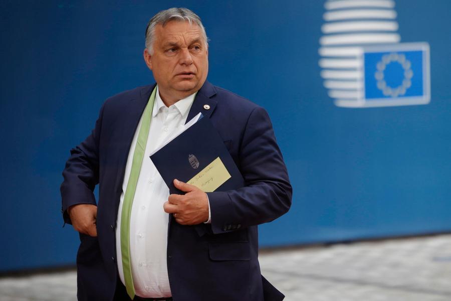 Il premier ungherese Viktor Orban (Ansa)