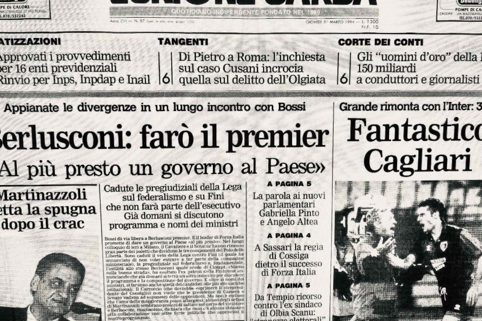 Ventisette anni fa la storica partita fra Cagliari e Inter