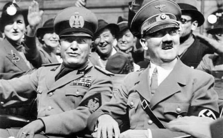 Con Adolf Hitler