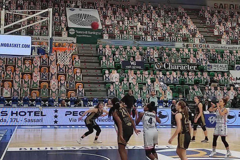 Basket femminile: la Dinamo superata in casa dal Campobasso per 89-73