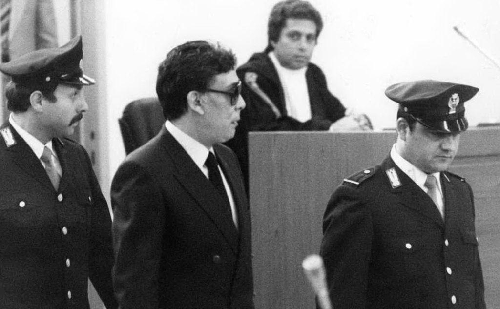 Il pentito Tommaso Buscetta, grande accusatore