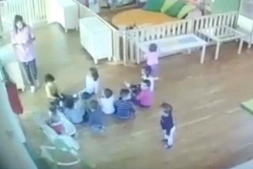 Presunti maltrattamenti nell'asilo, le immagini delle telecamere