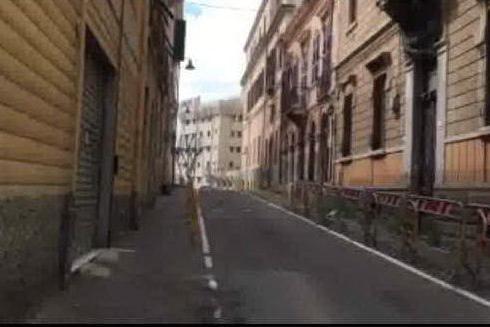 Cagliari, il centro deserto per l'emergenza coronavirus
