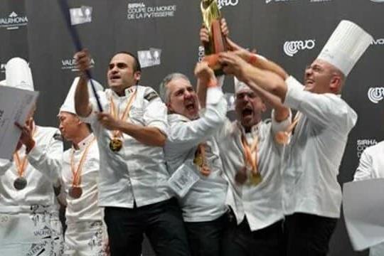 L'Italia vince (per la terza volta) il campionato del mondo di pasticceria