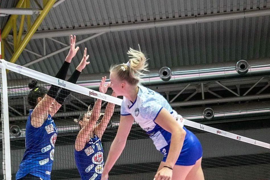 Hermaea sconfitta in trasferta: la Sigel Marsala vince 3-0