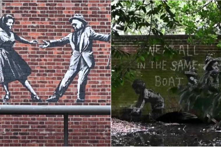 Banksy colpisce ancora: misterioseopere spuntano nell'est dell'Inghilterra