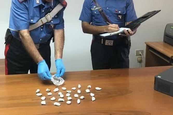 La droga sequestrata (foto carabinieri)