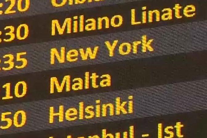 A Fiumicino il primo volo Covid Tested da e per New York