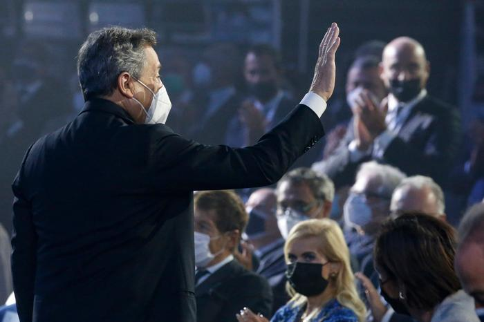 """Draghi all'assemblea di Confindustria: """"Crescita al 6%, il Green Pass strumento di libertà e sicurezza"""""""
