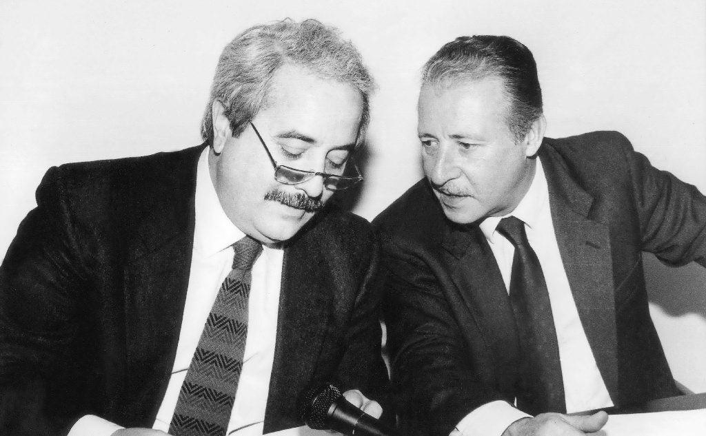 I due giudici Giovanni Falcone e Paolo Borsellino