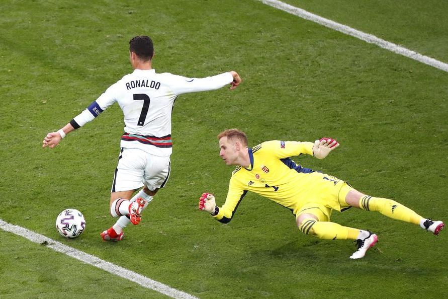 Ennesimo record di Ronaldo: è l'uomo con più gol negli Europei in carriera, undici