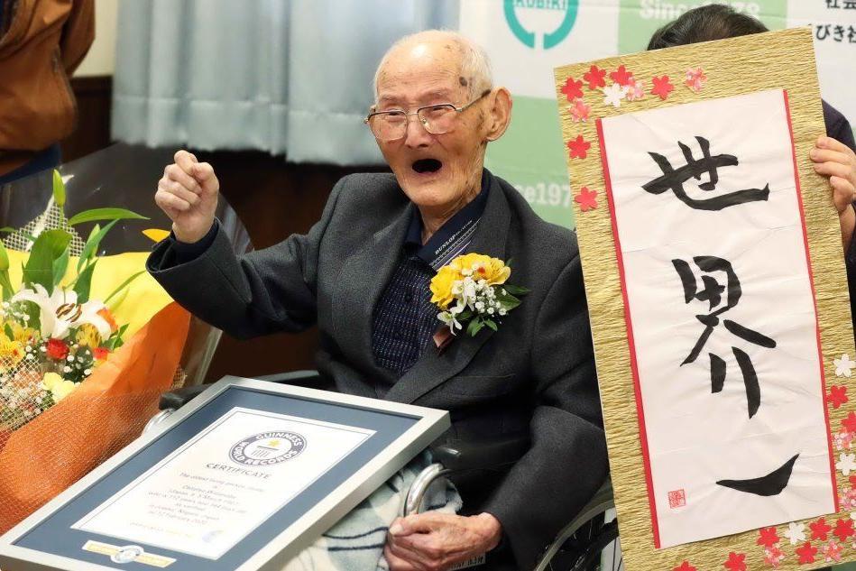 L'uomo più anziano del mondo? È giapponese e ha 112 anni