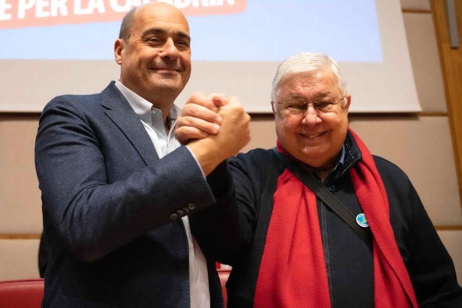 """Zingaretti: """"Salvini ha perso, felice per risultato Pd"""""""