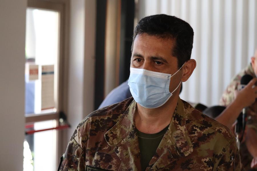 Il commissario straordinario per l'emergenza Covid-19, Francesco Paolo Figliuolo (Ansa)