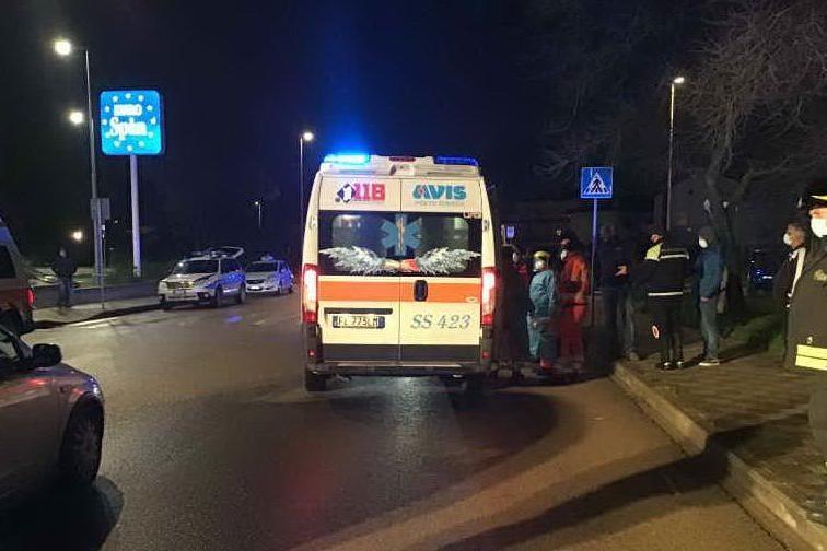 Doppio scontro a Porto Torres: tre persone all'ospedale