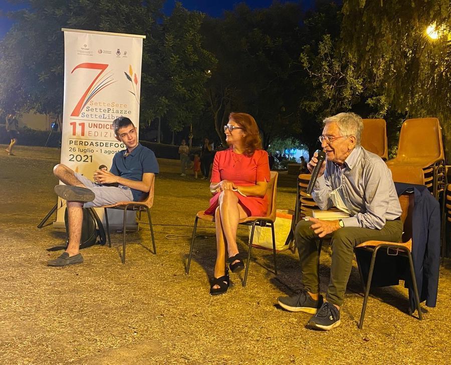 Matteo Porru, Cristina Caboni e Giacomo Mameli (foto Pillonca)