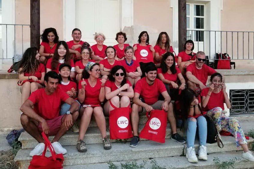 Gli allievi partecipanti (L'Unione Sarda - Pala)
