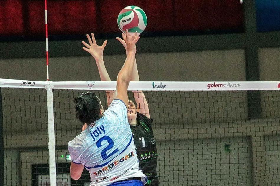 Volley, Hermaea Olbia sconfitta al tie-break