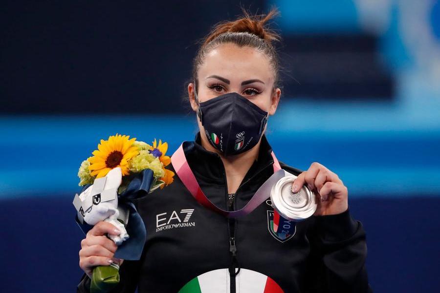 Tokyo: argento per Vanessa Ferrari, niente da fare per la sarda Kaddari in batteria ai 200 metri