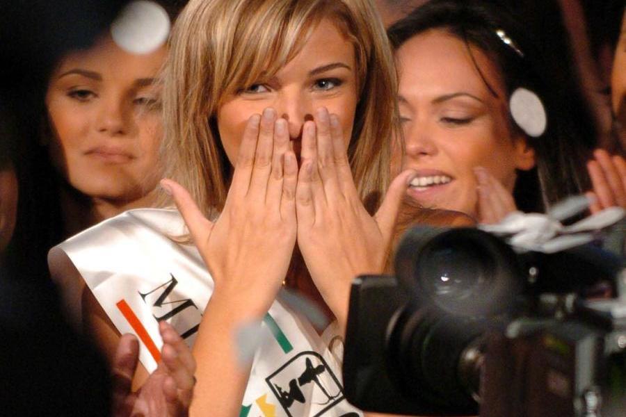 L'elezione a Miss Italia nel 2004