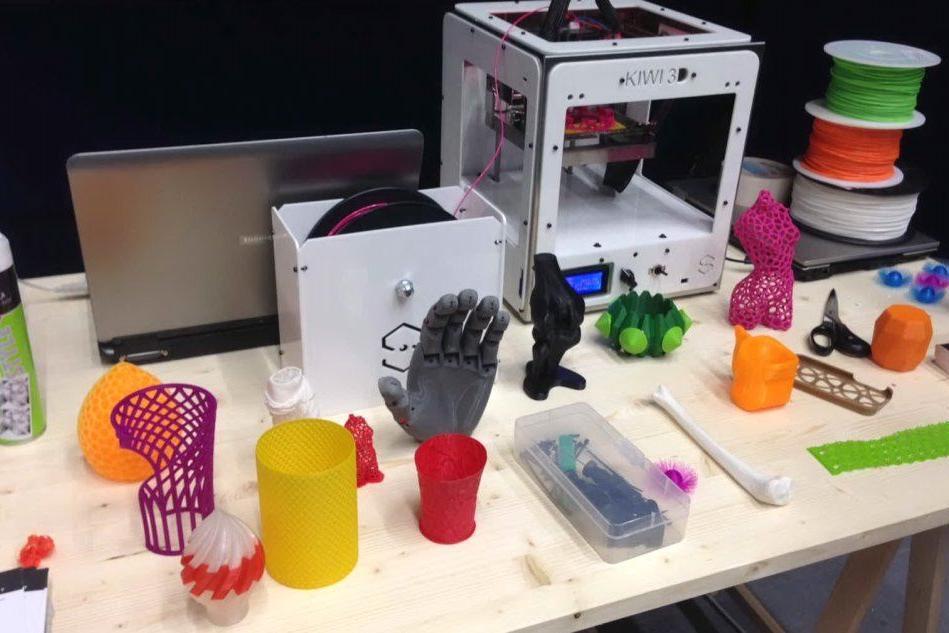 Alcuni oggetti realizzati con la stampante 3D