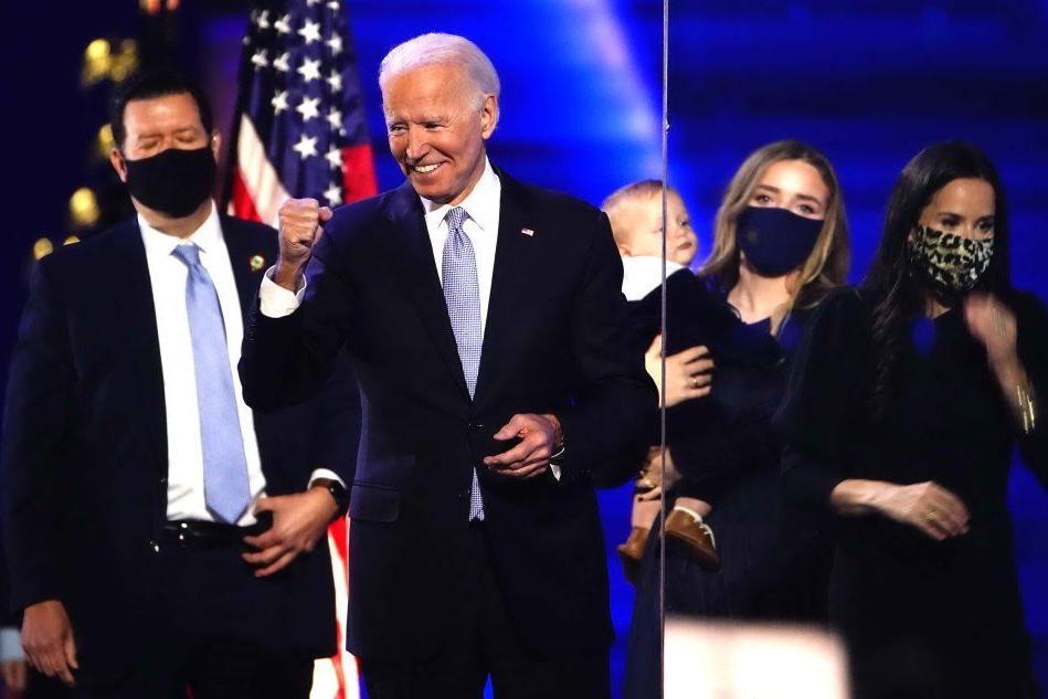 """Biden: """"La gente ha parlato, vittoria convincente"""""""