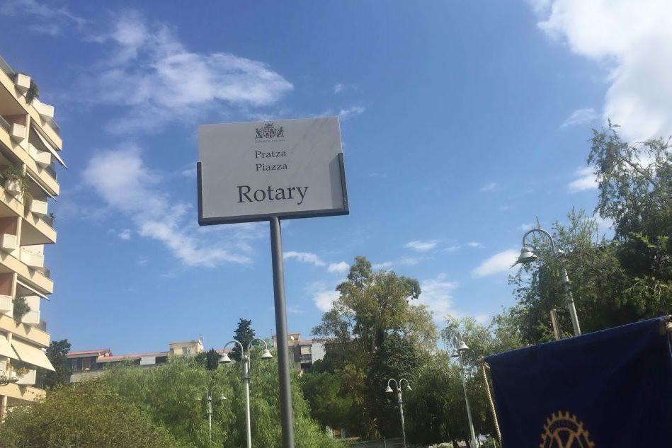 Cagliari, inaugurato il giardino dedicato al Rotary Cagliari Est