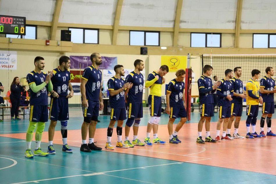 Volley, Sarroch difende a Roma il terzo posto in serie B maschile