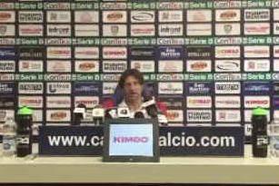 """Calcio Serie B, Cagliari stasera in campo al Sinigaglia. Rastelli prudente: """"Occhio al Como"""""""
