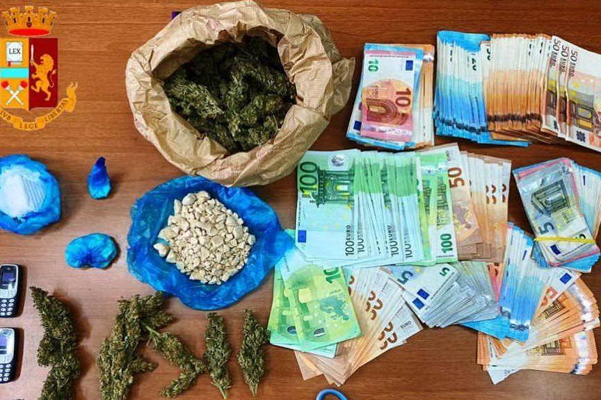Smercio di droga a conduzione familiare: Cagliari, in manette una coppia