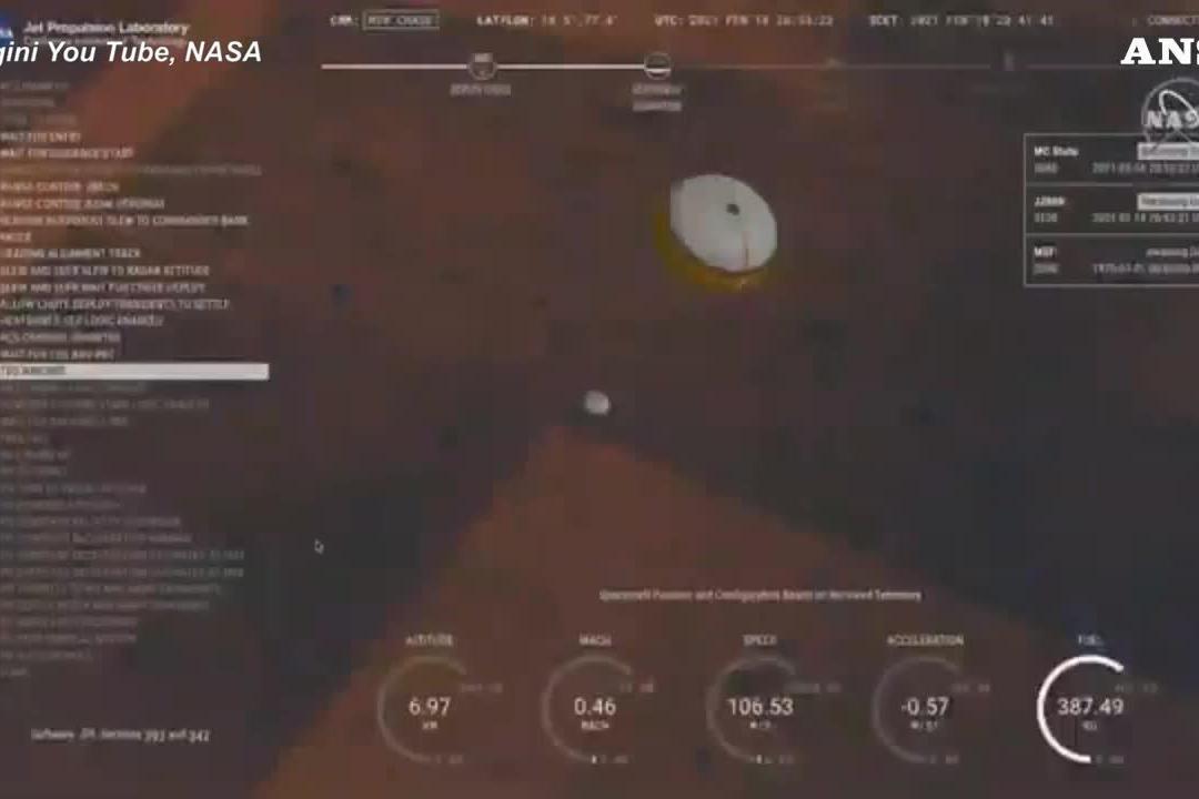 Perseverance su Marte, le prime immagini del Pianeta Rosso