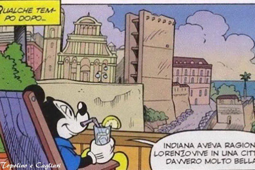 Quando Topolino passeggiava per Cagliari