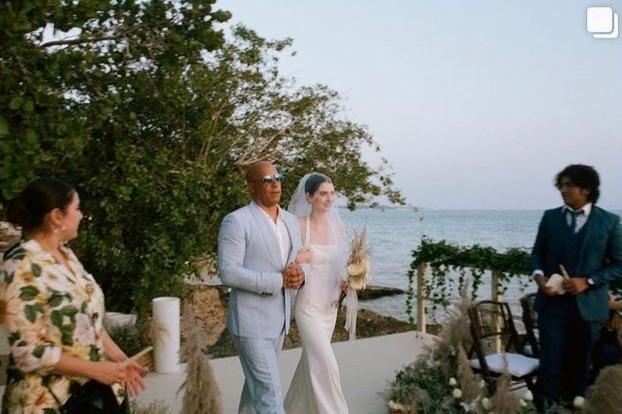 Fast and furious, Vin Diesel accompagna all'altare la figlia dell'amico Paul Walker