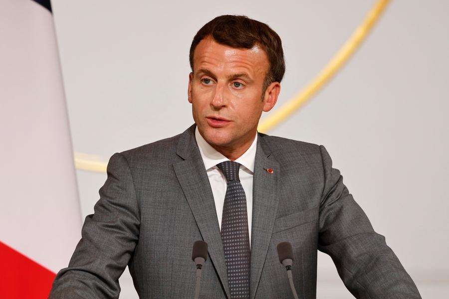 Emmanuel Macron (Ansa-Epa)