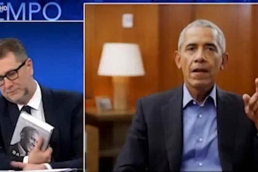 """Barack Obama da Fazio: """"La democrazia non è un dono del cielo"""""""