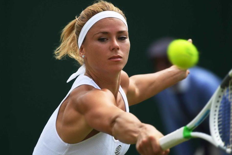 La stella di Camila Giorgi brilla al torneo di Wimbledon