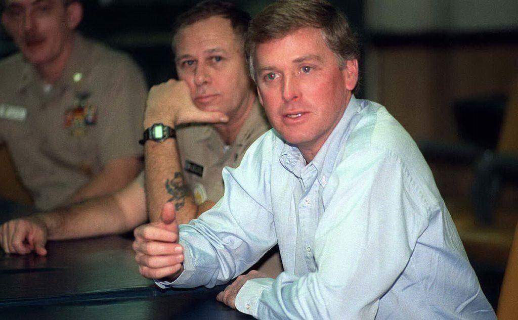 Dan Quayle (foto a uso libero del Dipartimento Difesa Usa tratta da Wikipedia)
