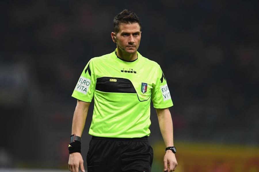 L'arbitro Fabrizio Pasqua (foto Inter.it)
