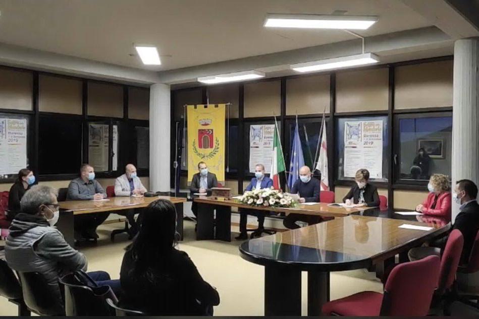 Insediato il Consiglio comunale di Baressa, il sindaco Mauro Cau al lavoro