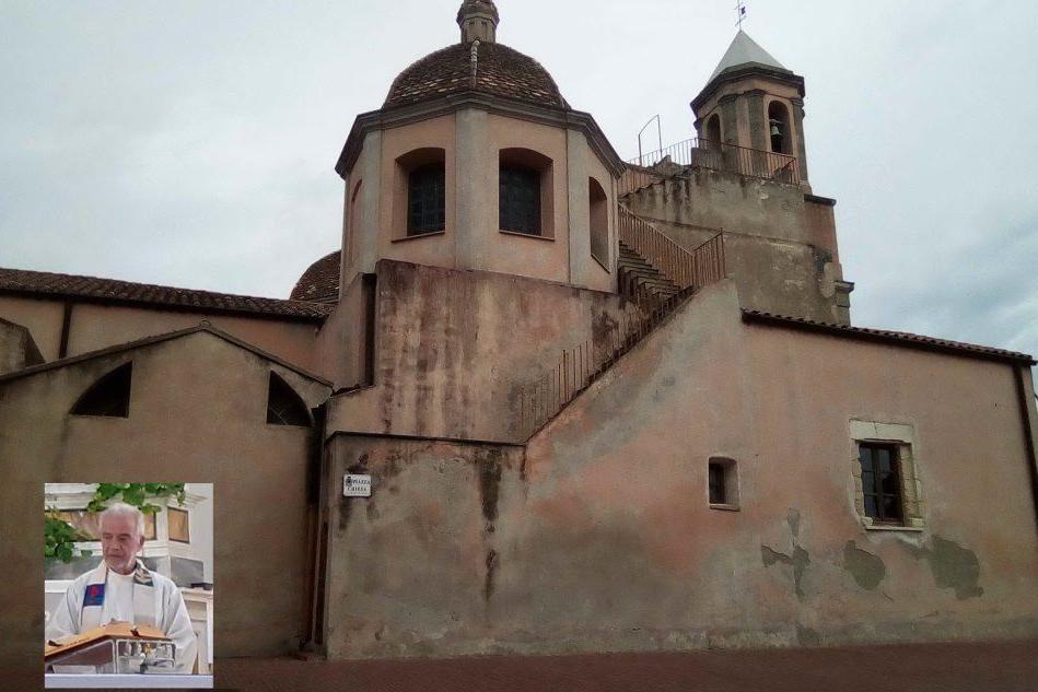 Serdiana celebra i cinquant'anni di sacerdozio di don Mario Cugusi