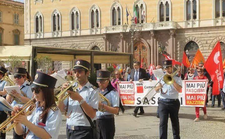 La manifestazione a Sassari